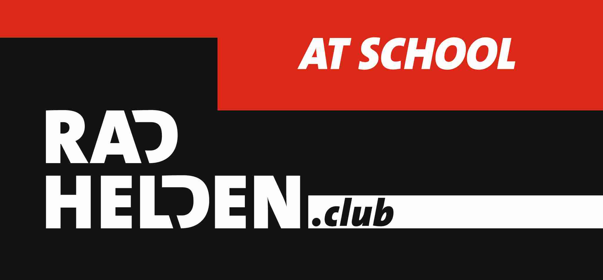 logo radhelden at school